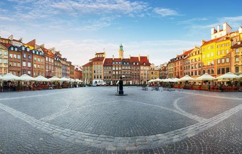 Vidunderlige Warszawa