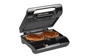 Kombineret grill- og toaster