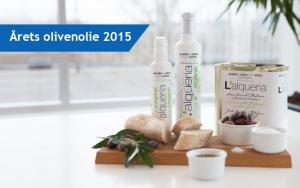 Prisvindende olivenolie