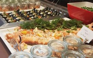 Toplækker tapas-grillbuffet
