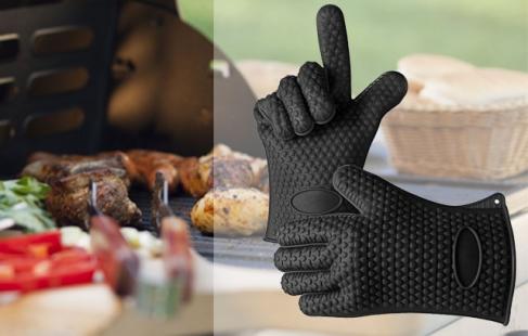 Varmeresistent grillhandske