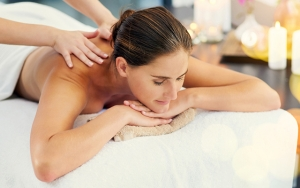 Afstressende massageterapi