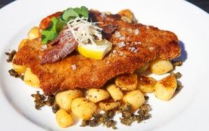 Klassisk skinkeschnitzel