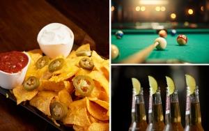 Pool, nachos og øl