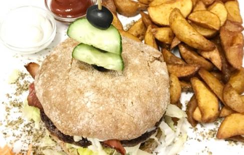 Hjemmelavet burger ♥