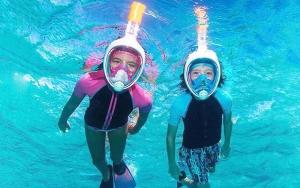 Snorkelmaske til store og små