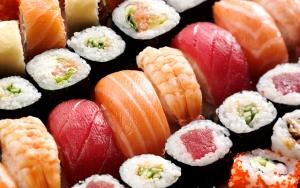 Running sushi & skøn dessert