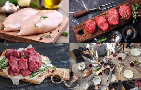 KÆMPE slagterpakke