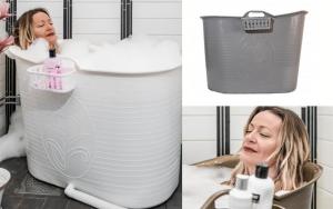 Stort badekar til brusenichen