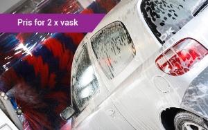2 bilvaske til DEALpris