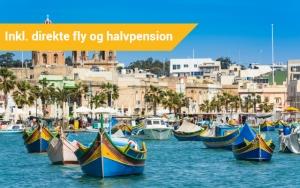 Middelhavsferie på Malta