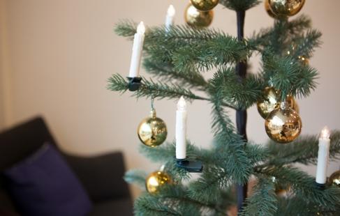 Ledningsfri juletræslys