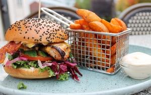 Burger på Café K