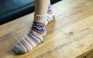 Få uldne sokker med posten