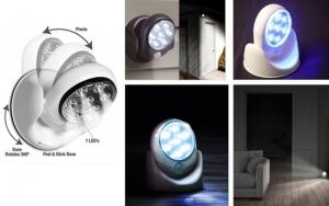 LED-lamper med sensor