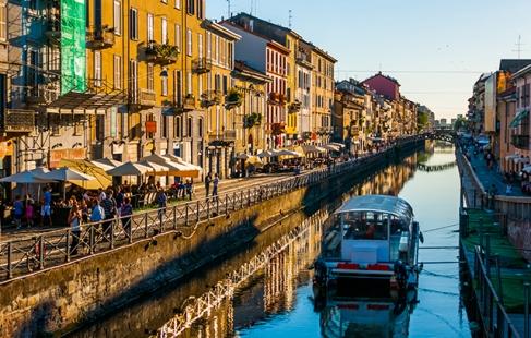 Milano inkl. fly og hotel