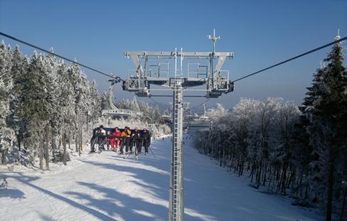 Kom ud og stå på ski