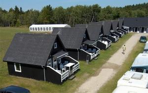 Ferie i luksushytte på Dokkedal Camping