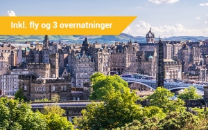 På eventyr i Edinburgh
