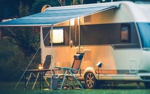 Sommerklar campingvogn