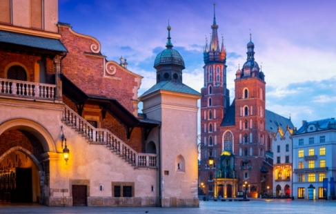 Udforsk smukke Krakow
