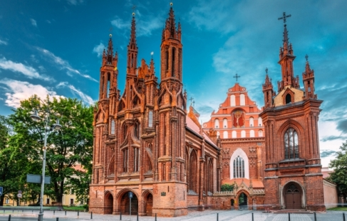 Vidunderlige dage i Vilnius