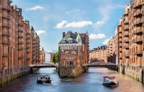 Livsglæde i Hamborg
