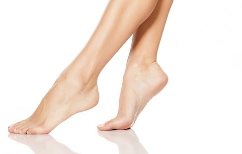 Velplejede fødder