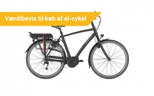 Op på el-cyklen!
