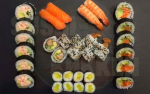 Efterårs-sushimenu