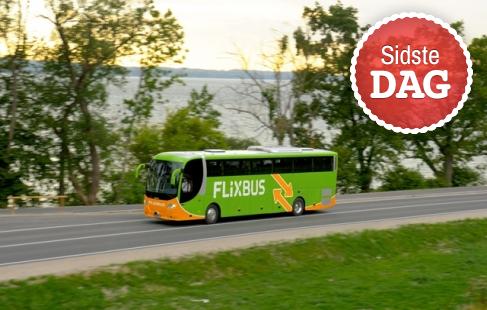 Billig busbillet til FlixBus