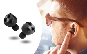 Praktiske Bluetooth earbuds