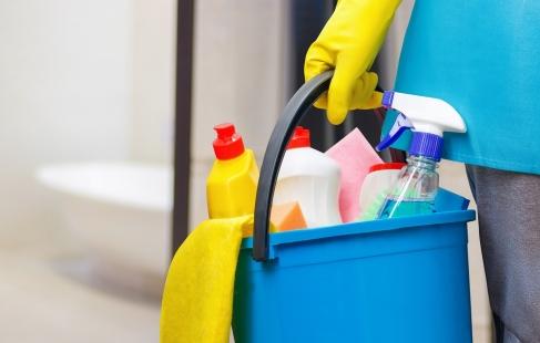 Skinnende rengøring