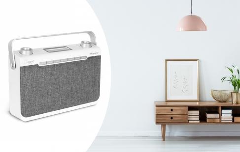 Radio/trådløs højtaler i ét