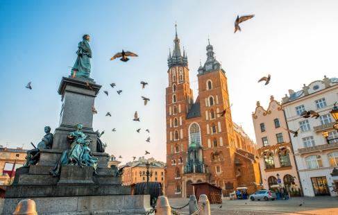 Krakow - den lille storby