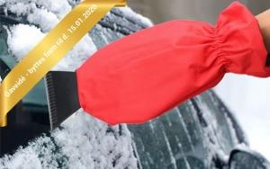 Smart isskraber med handske