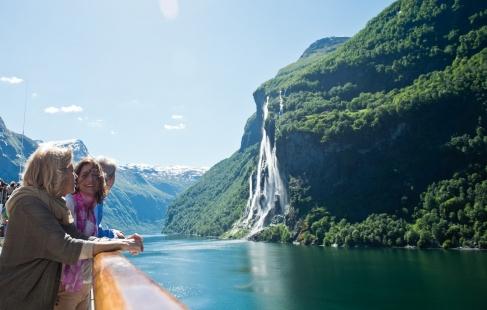 Krydstogt i de norske fjorde
