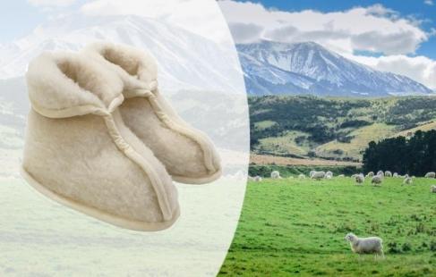 Varme kamikker i 100 % uld