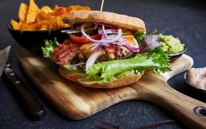 Café Borgens burger