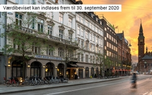 Bo helt centralt i København