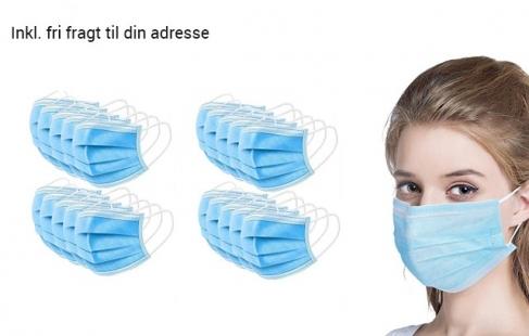 CE-mærkede ansigtsmasker