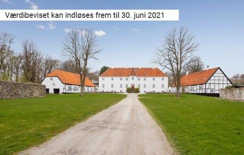 Ophold på sydsjællandsk gods
