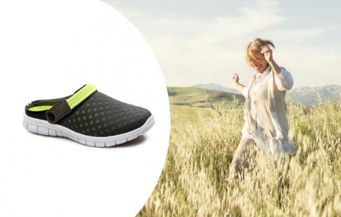 Luftige sandaler
