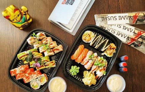 Luksuriøs sushimenu