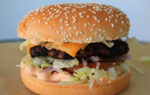 SKØN burgermenu i Brabrand
