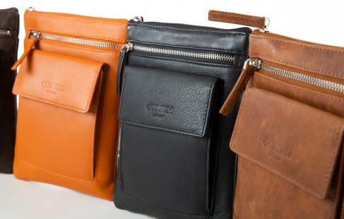 Stilfuld taske til mobilen