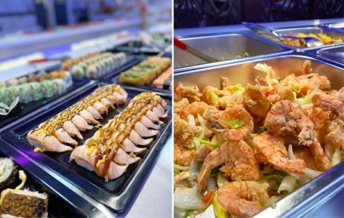 Lækker kinesisk buffet