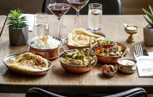 5-retters indisk menu