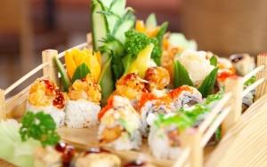 Stil sulten med sushi