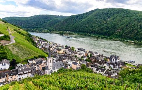 Miniferie ved Rhinen